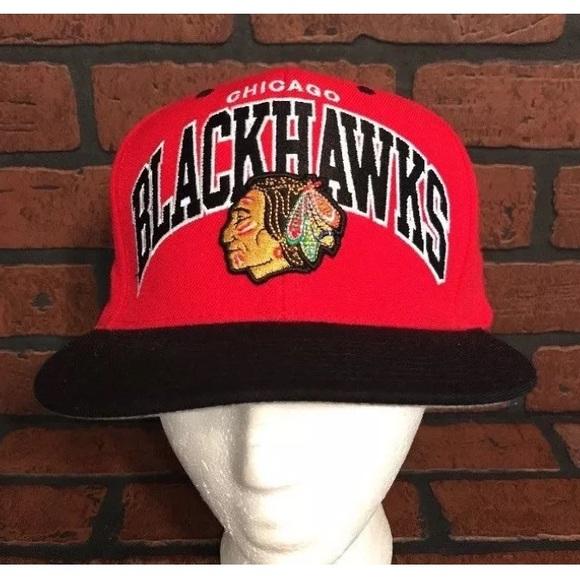 Mitchell /& Ness snapbacks Chicago Blackhawks NHL Hockey Cap